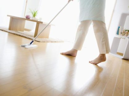 Cleaning Hardwood and Vinyl Floors